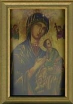 Our Lady of Perpetual Help Framed Print 34x28cm