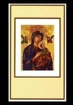 Our Lady of Perpetual Help Mass Card - Intention
