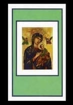 Our Lady of Perpetual Help Sympathy Card