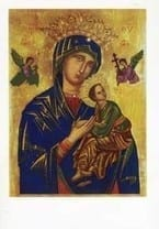 Our Lady of Perpetual Help Print 18x13cm