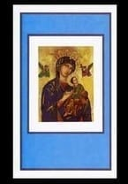 Our Lady of Perpetual Help Mass Card - Sympathy