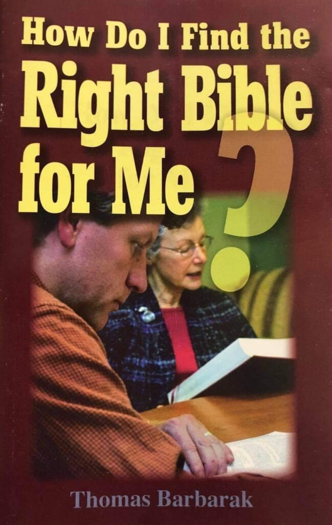 How Do I Find The Right Bible For Me?